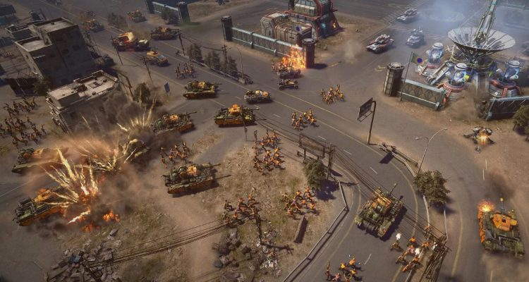 Command & Conquer Remastered - старый новый голос интерфейса EVA