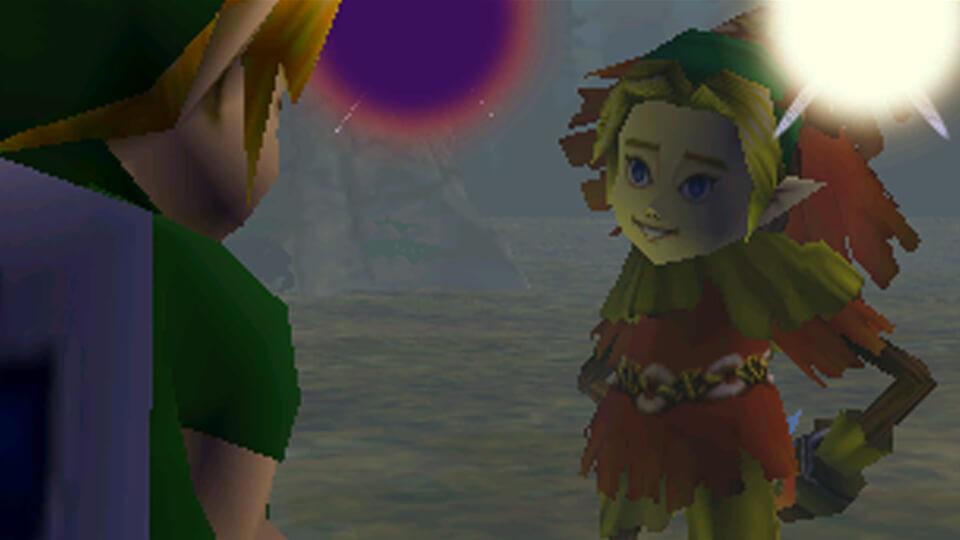 Ужасная скрытая маска с лицом Линка - The Legend Of Zelda: Majora's Mask
