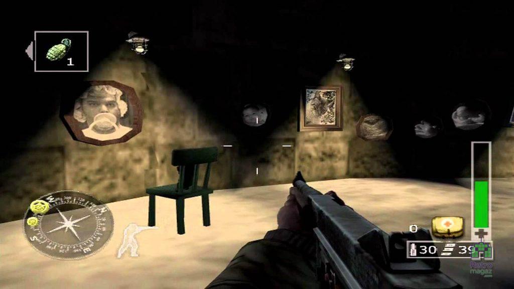 Тревожная «Призрачная» комната - Call Of Duty: Finest Hour
