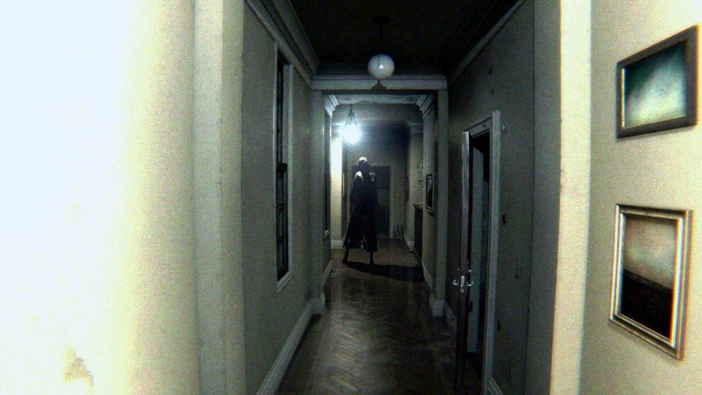 Хак с камерой, подтверждающий то, что Лиза всегда находится за спиной игрока - P.T.