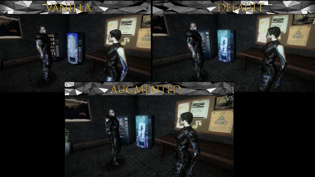 Текстуры высокого разрешения для Deus Ex обновляет вид всех персонажей, декорации и предметы