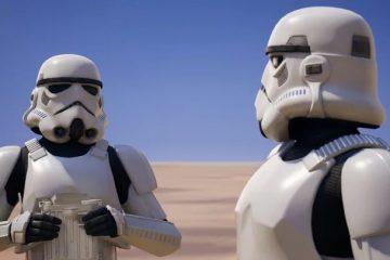 Игроки Fortnite увидят фрагмент Star Wars 9 в игре