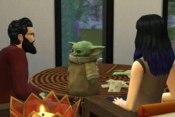 Малыш Йода отправился в The Sims 4