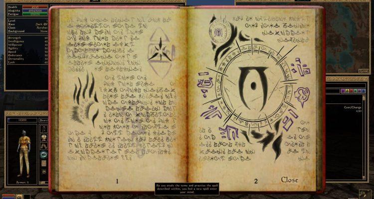 Моды для The Elder Scrolls III: Morrowind добавляют 109 новых магических эффектов и второе оружие