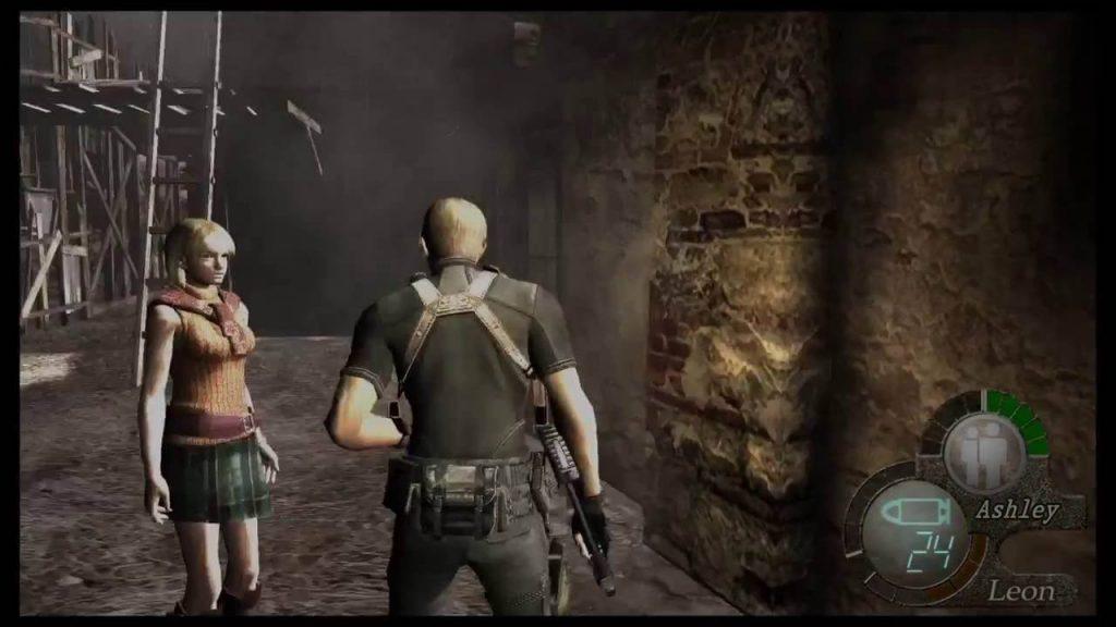 Сопровождение Эшли - Resident Evil 4