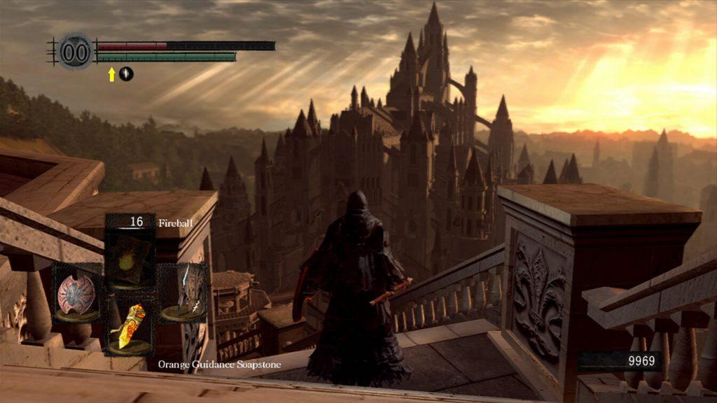 Переходы Anor Londo - Dark Souls