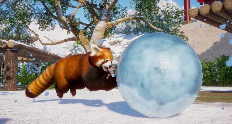 На следующей неделе Planet Zoo получит «праздничное» дополнение