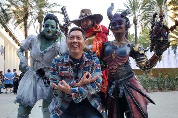 Актеры озвучки Overwatch посетили BlizzCon в костюмах персонажей, которых они озвучивали