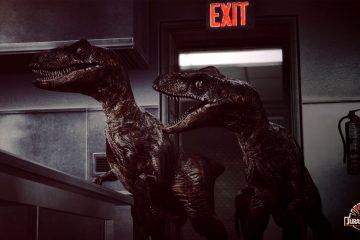 Первый взгляд на новых Велоцерапторов в Jurassic Life — моде для Half-Life 2 вдохновлённом Парком Юрского Периода