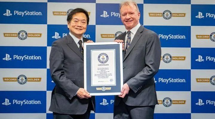 PlayStation попала в Книгу рекордов Гиннесса