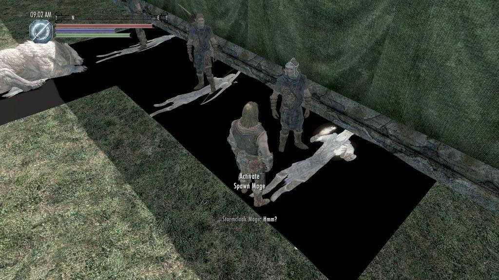 Мод превращает Skyrim в стратегию в реальном времени