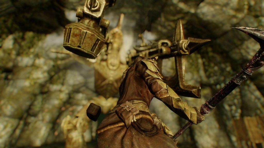Мод для Skyrim пересматривает боевую механику игры