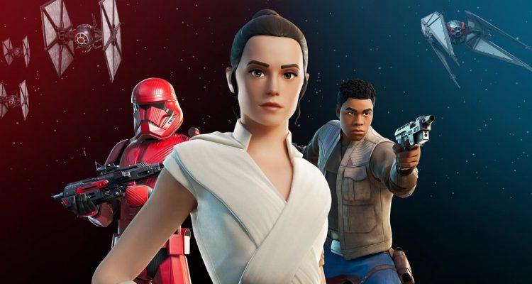 В Fortnite продолжается мероприятие, посвящённое Звёздным войнам