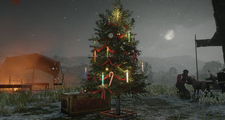 В GTA и Red Dead Online выпал рождественский снег