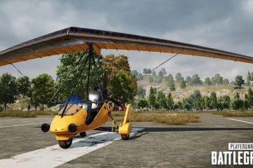 В PUBG появился летательный аппарат мото-глайдер