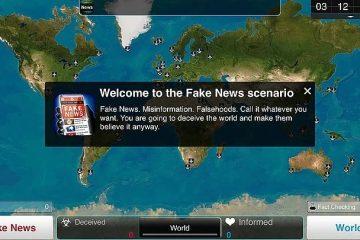 Вышел новый сценарий - Fake News для Plague Inc