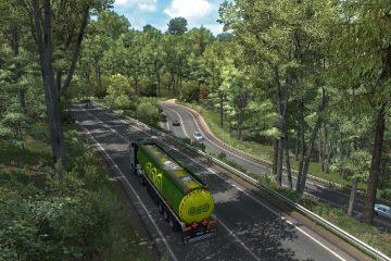 """Вышло DLC """"Дорога к Чёрному морю"""" для Euro Truck Simulator 2"""