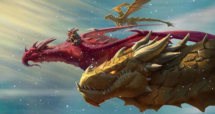 Вышло дополнение «Натиск драконов» для Hearthstone