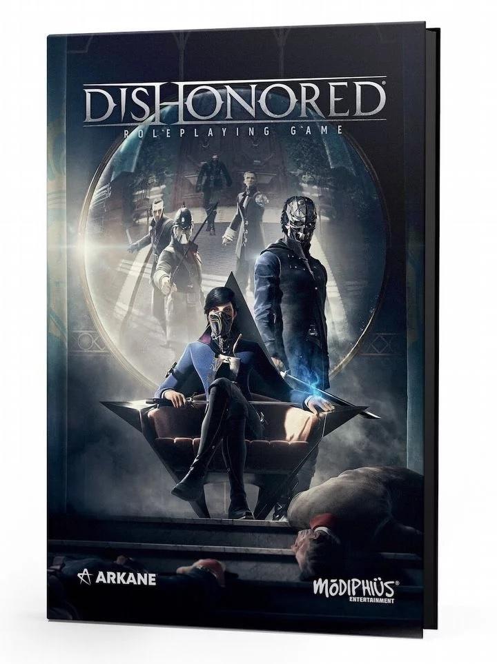Анонсирована книжная RPG - Dishonored