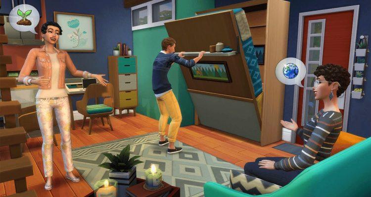"""Анонсировано новое дополнение для The Sims 4 - """"Компактная жизнь"""""""
