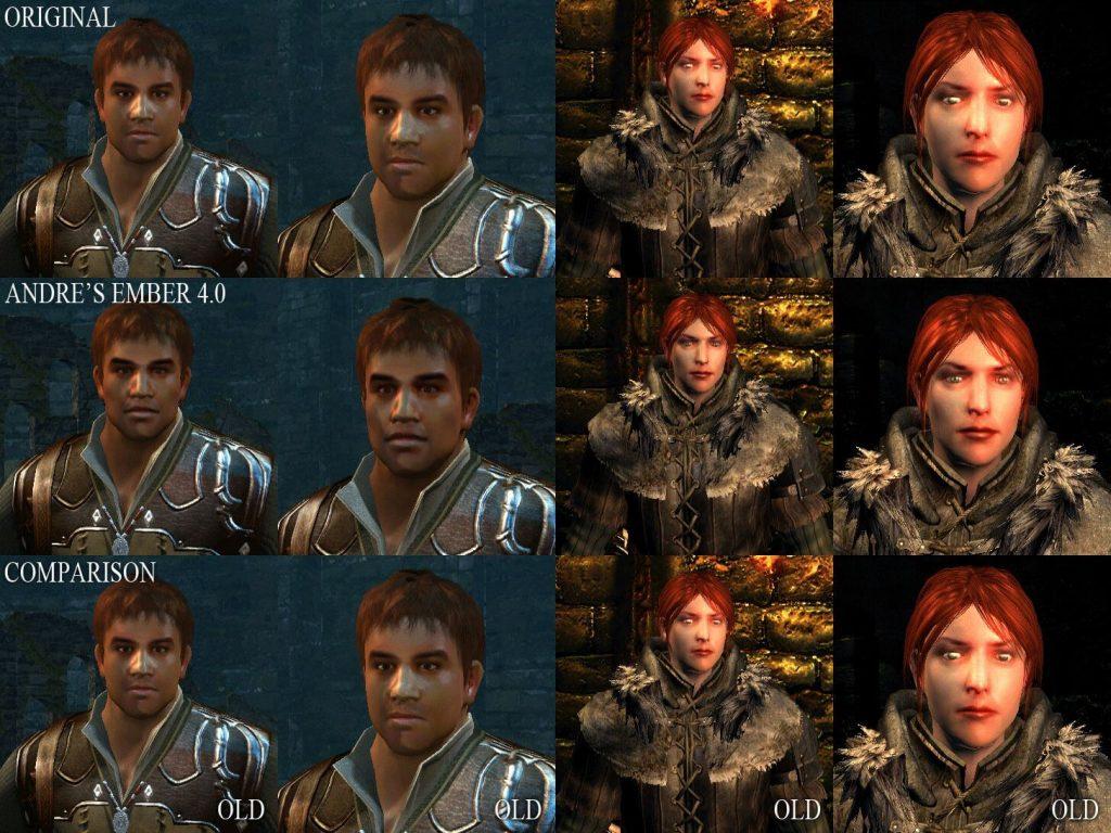 Улучшенные головы персонажей