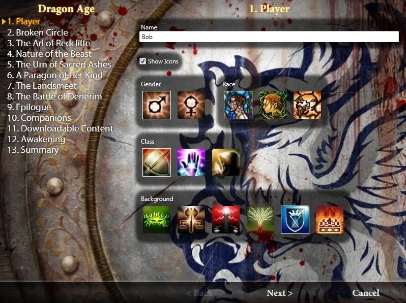Программа для переноса сохранений из Dragon Age Origins