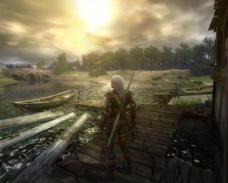 Набор финальных сохранений из Witcher 1