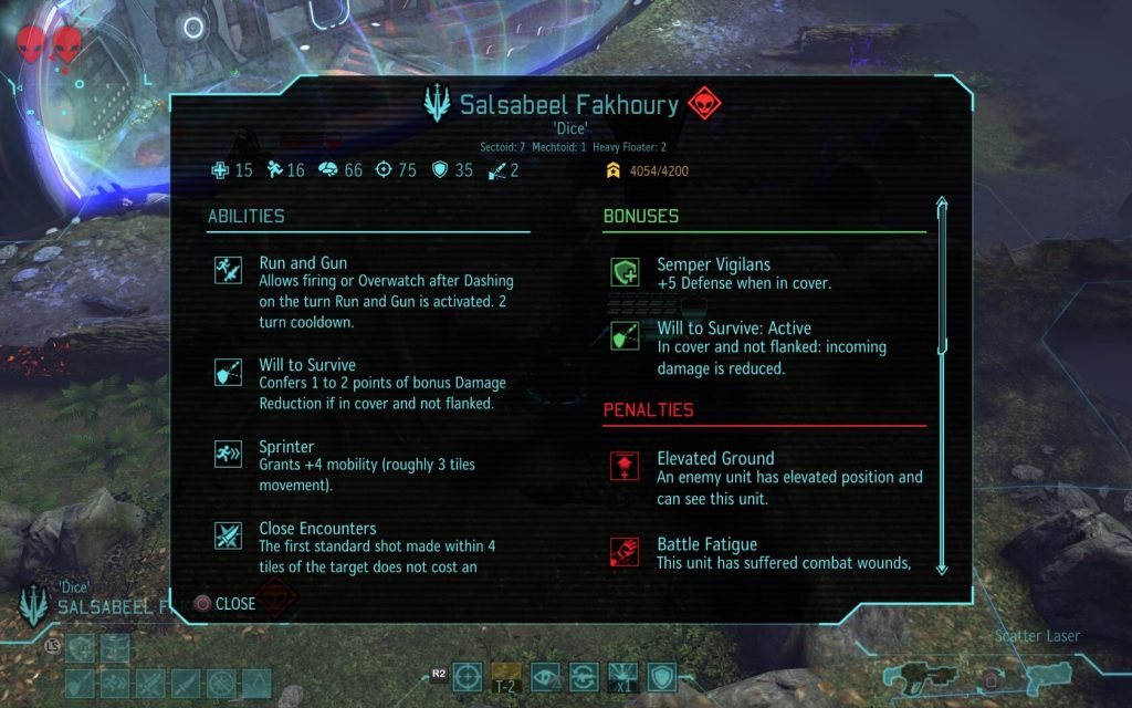 Enhanced Tactical Info