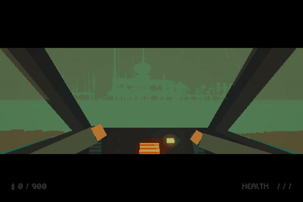 Blue Drifter — прыгайте в свое летающее авто и начинайте охоту