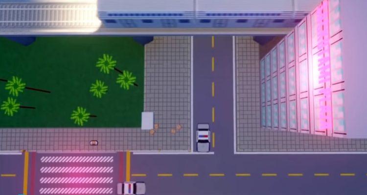 Cyberpunk 1997 - это целиком созданный в Dreams «демейк» в стиле Playstation 1