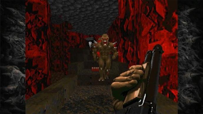 Doom и Doom 2 с поддержкой 60 FPS и неофициальными дополнениями