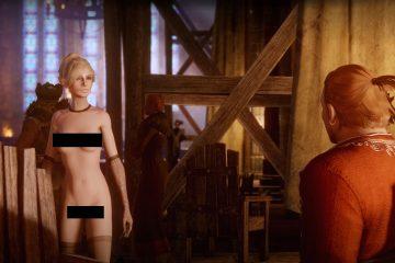 Nude мод для Dragon Age Inquisition