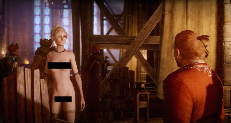 Nude мод для Dragon Age Inquisition