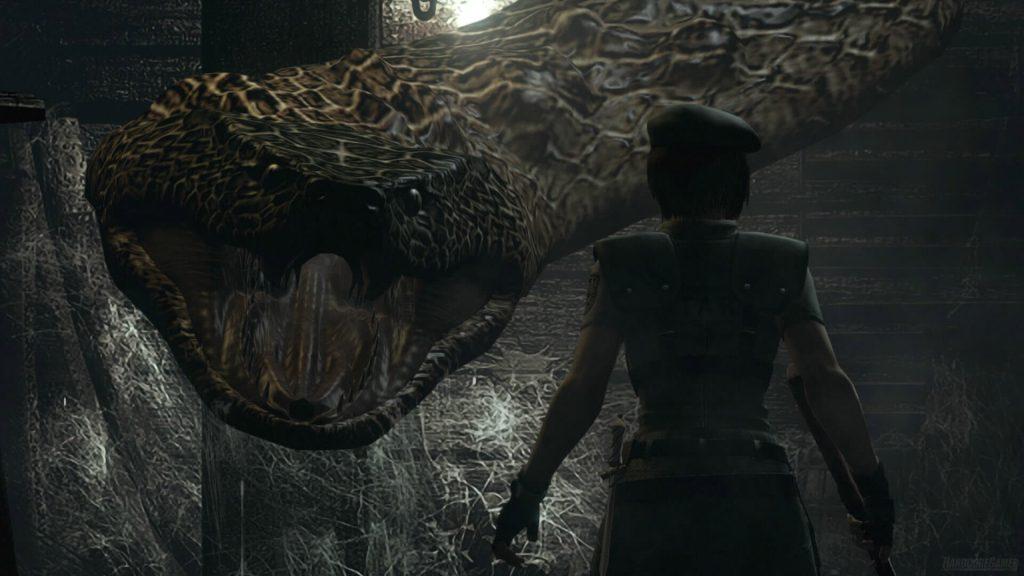 Змей – Resident Evil HD Remaster