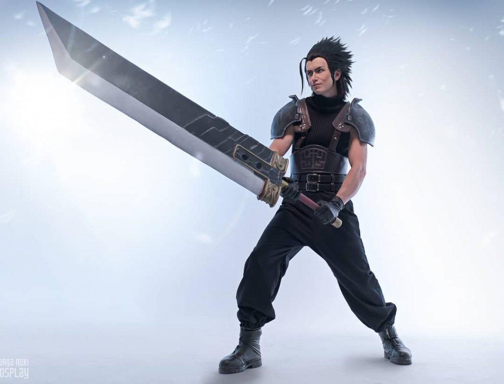 Невероятный косплей Аэрис и Зака из Final Fantasy VII