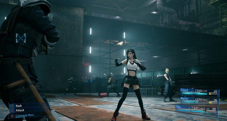 Final Fantasy VII Remake - утечка получасового геймплея