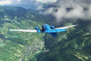 Фотореалистичное видео из Microsoft Flight Simulator