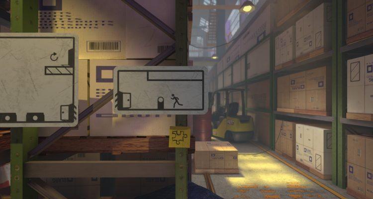 Головоломка о дорожных знаках The Pedestrian вышла в Steam