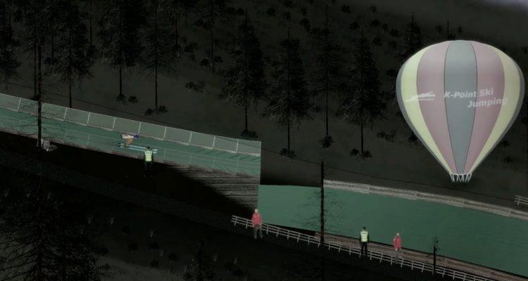 K-Point Ski Jumping вышла в Steam