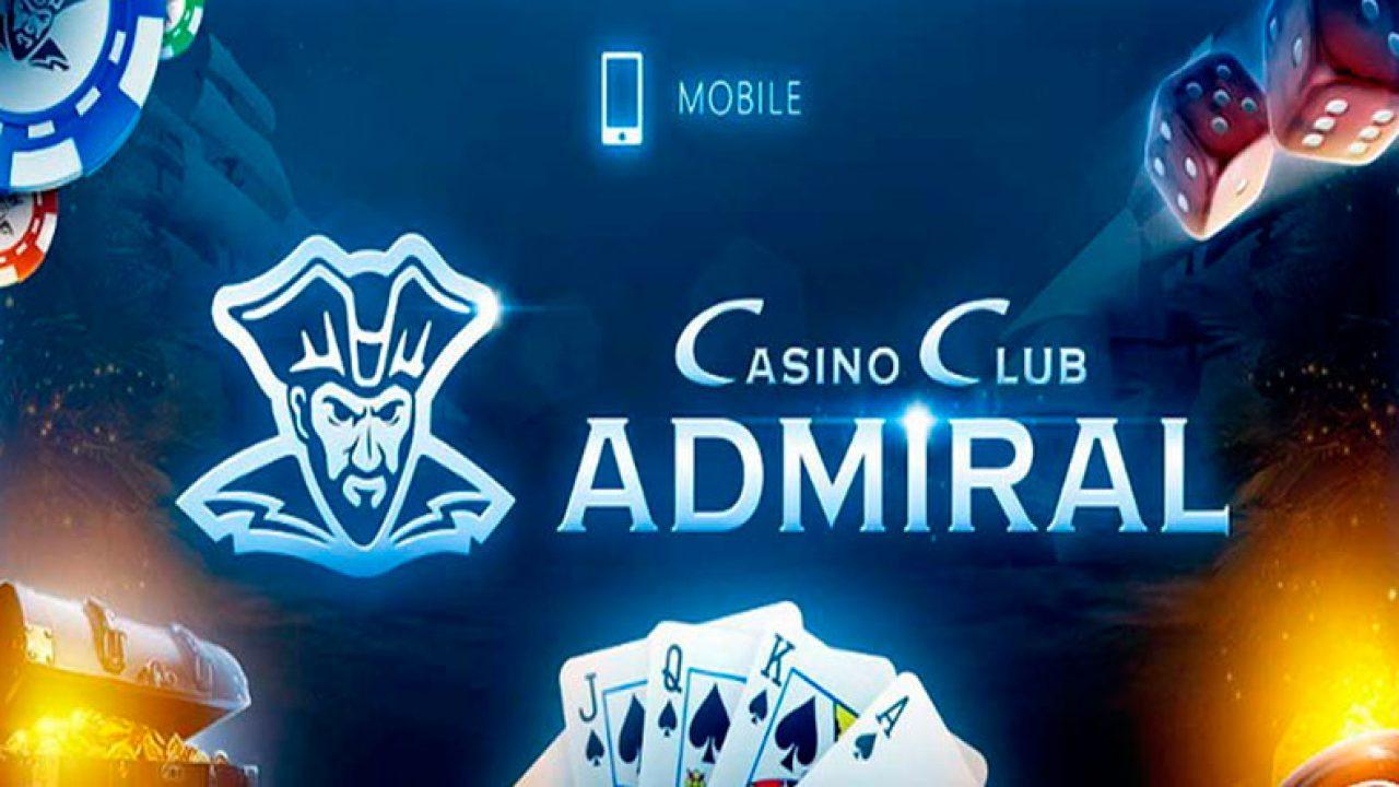 Казино клуб адмирал мобильная версия где можно купить игровые автоматы видео