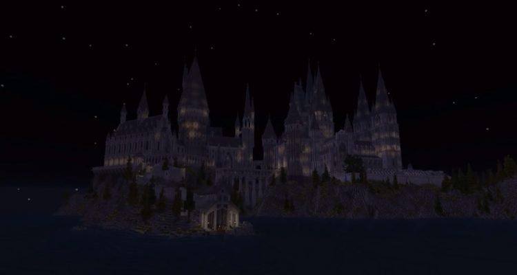 Мододелы создают весь мир Гарри Поттера в Minecraft