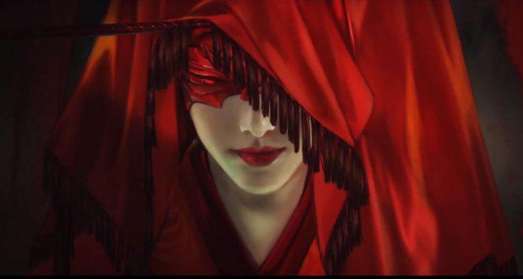 Naraka: Bladepoint получила новое видео и скриншоты запечатлевшие даму в красном и город