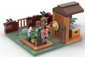 Проголосуйте за создание Лего-набора по сюжету игры Untitled Goose Game