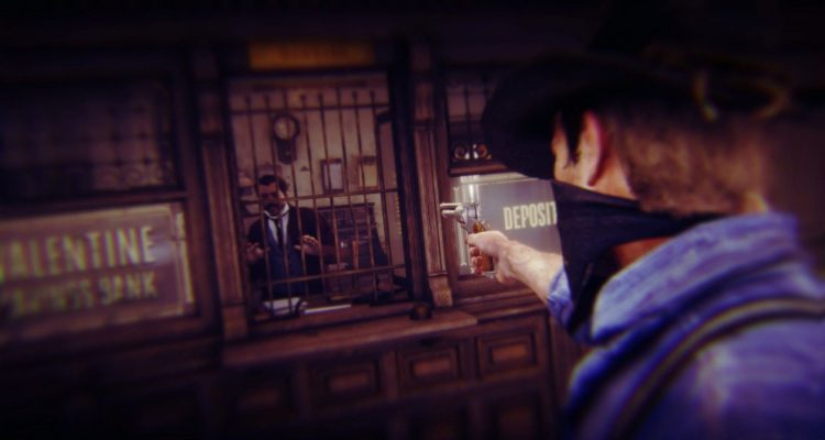 Мод для Red Dead Redemption 2 позволит вам грабить банки
