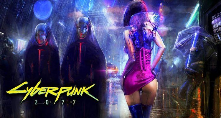 Ремейк Cyberpunk 2077 в Dreams выглядит хорошо