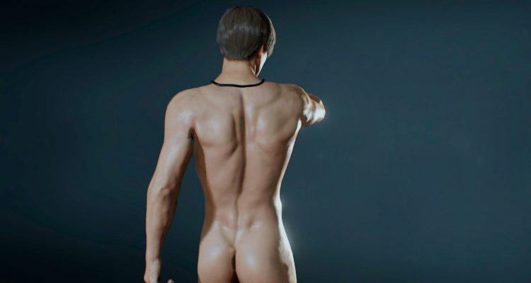 Мод Male Nude для Resident Evil 2 Remake