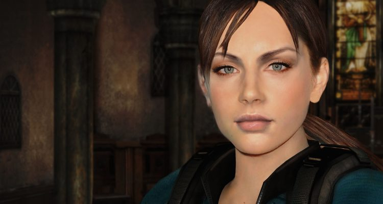 Полностью обнаженная Джилл Валентайн в моде для Resident Evil: Revelations HD