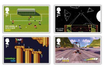 Royal Mail почтил память классических британских игр с помощью марок