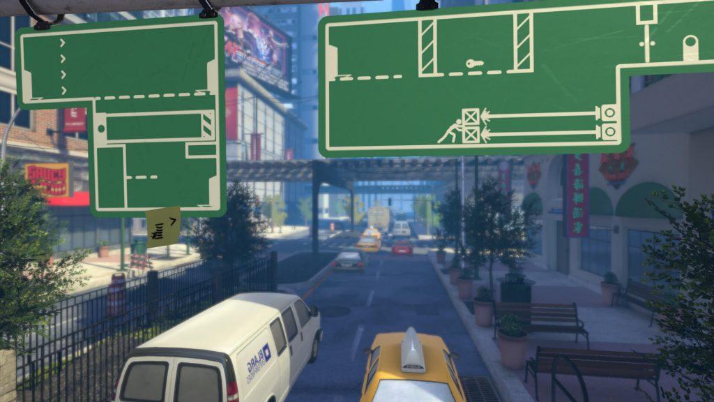 The Pedestrian — сайд-скроллер с дорожными знаками