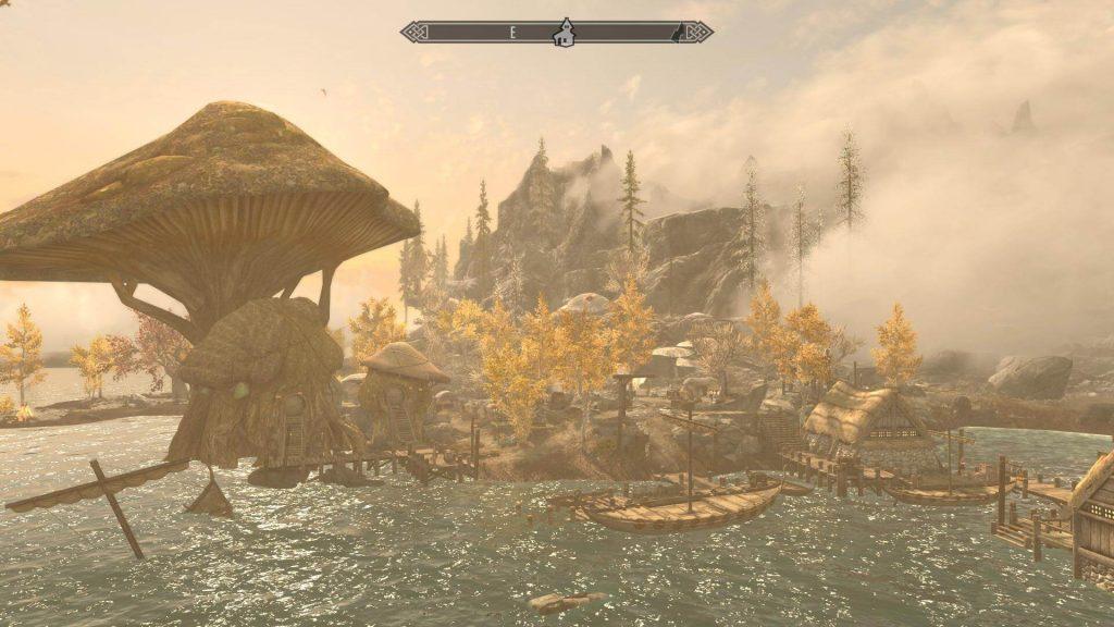 Land of Vominhem: неофициальный мод в стиле Ведьмак 3 для Skyrim